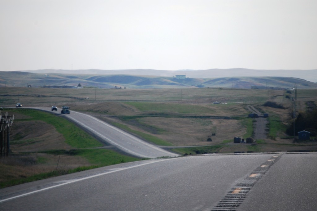 Heading west to Montana on US Hwy 2 from Williston