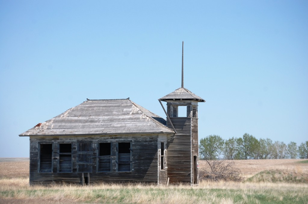 Another shot of the old school house