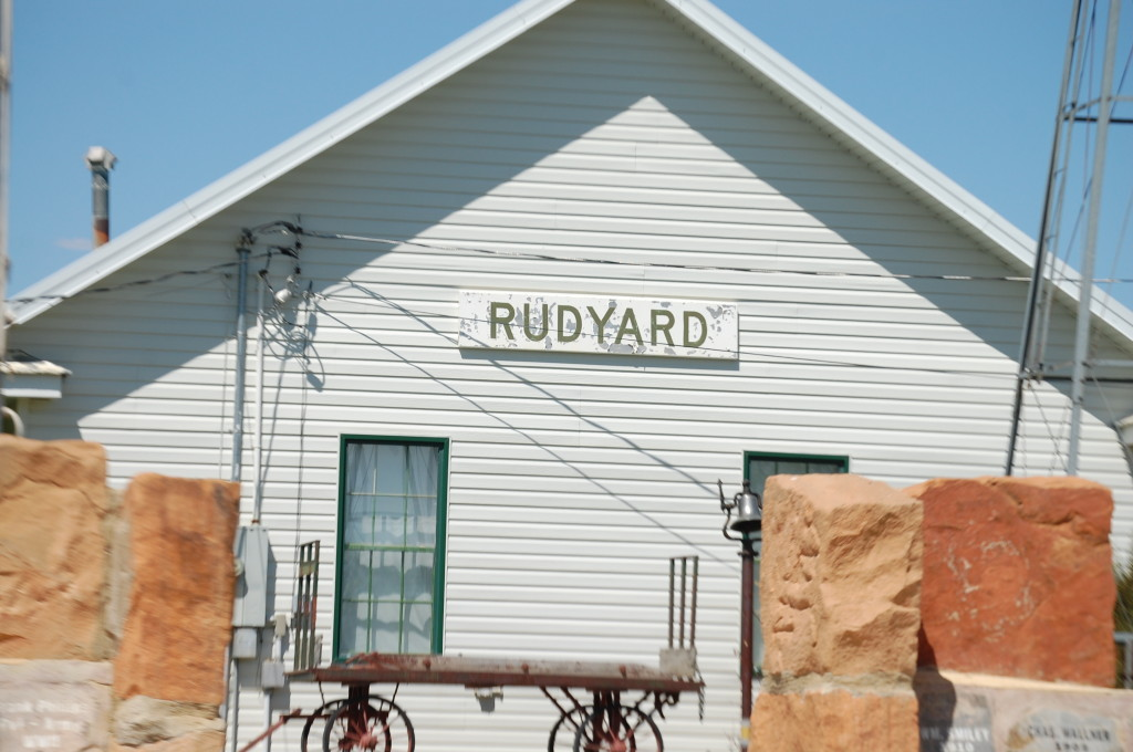 The Depot Museum in Rudyard, MT