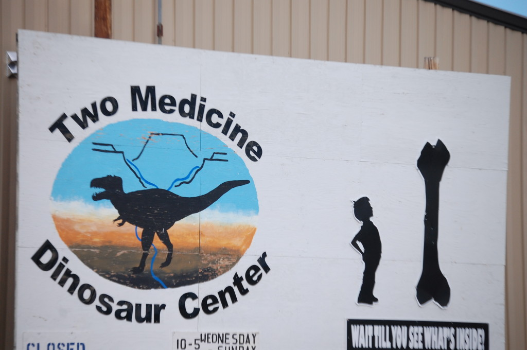 Two Medicine Dinosaur Center, Bynum, Montana