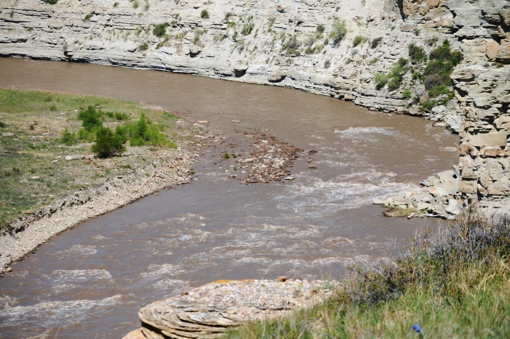 Two Medicine River north of Valier, Montana