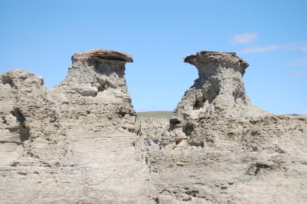 Unique formations at Rock City