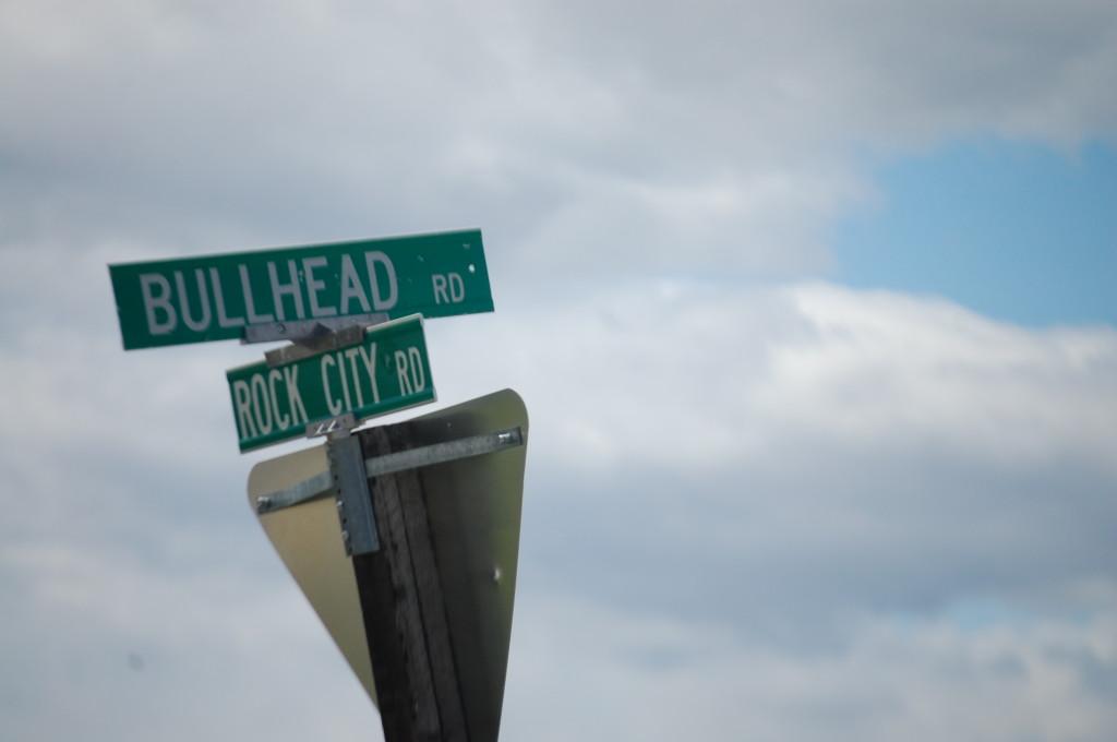 Rock City Rd. and Bullhead Rd.