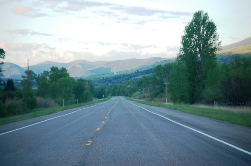 US 89 south towards Monarch, Montana