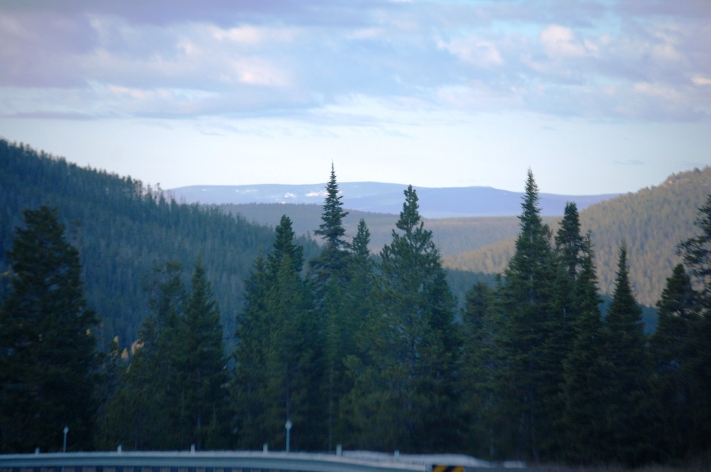 The views south from Kings Hill Pass