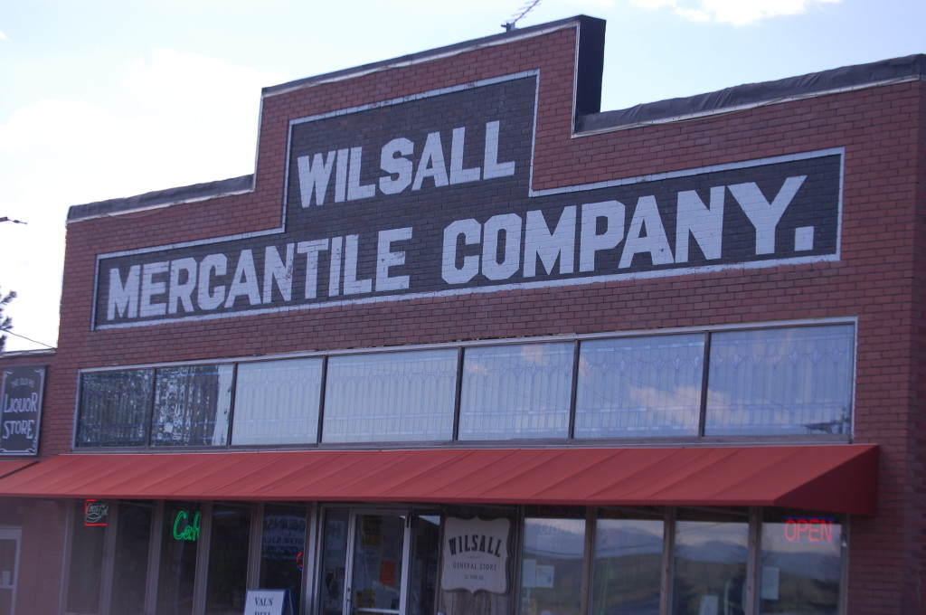 Wilsall Mercanitle Company in Wilsall, Montana