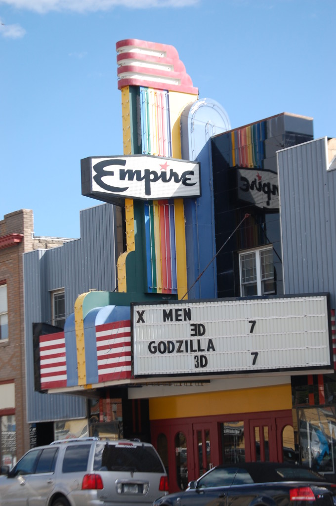 Old Empire Theater in Livingston, MT
