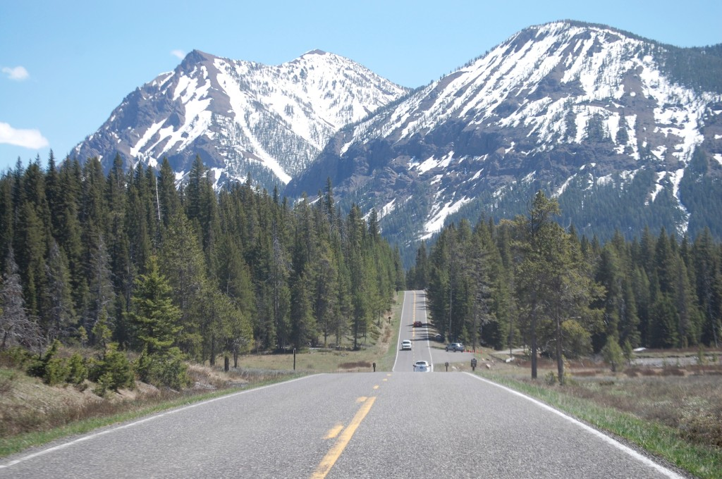 Mountains near the Northeast Entrance of Yellowstone