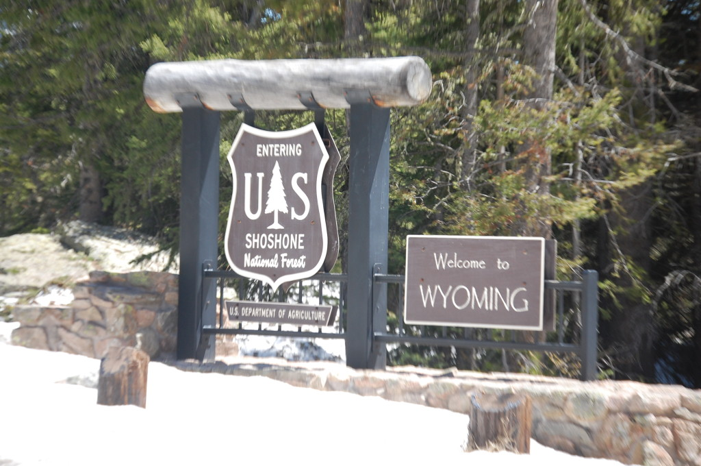 """Welcome """"back"""" to Wyoming"""