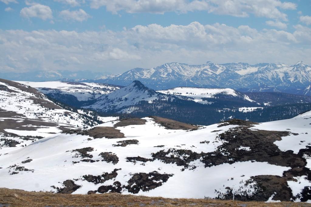 Glorious Mountain Vista from 11,000 feet