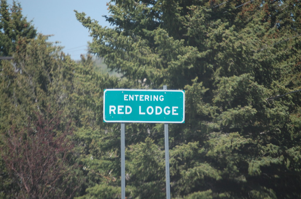 Welcome to Red Lodge, Montana
