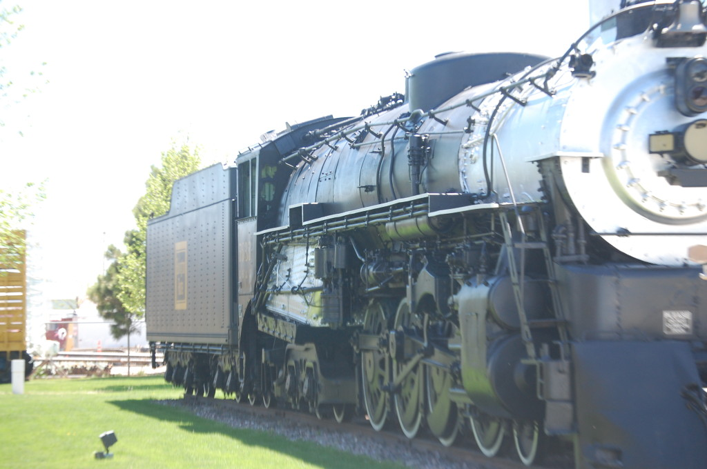 Old Train Engine on display at the Douglas Visitor's Center