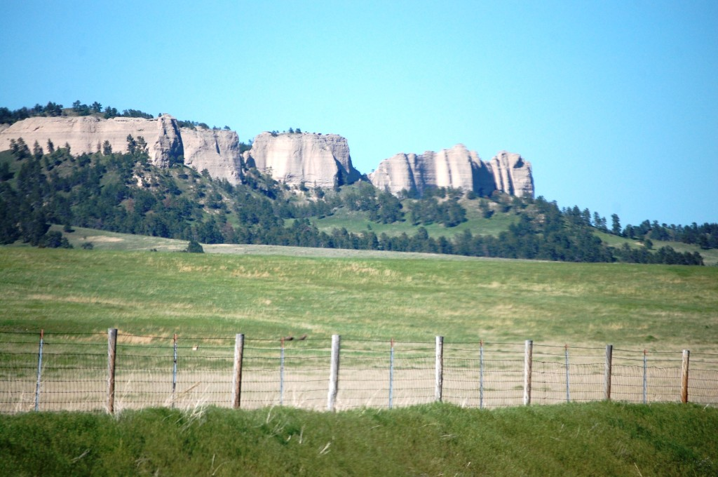 Buttes of Fort Robinson State Park near Crawford, Nebraska