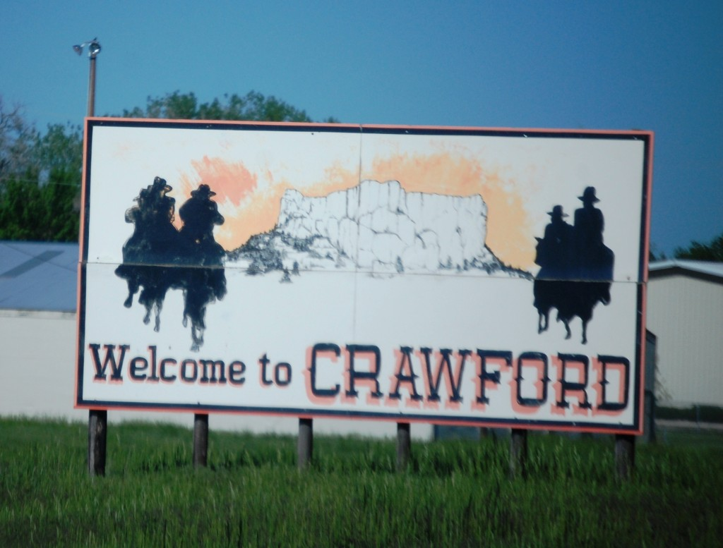 Welcome to Crawford, Nebraska