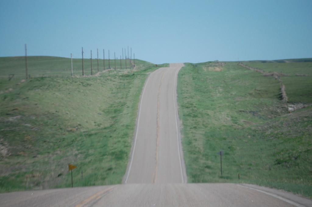 Nebraska Hwy 2/71 heading southeast towards Hemingford