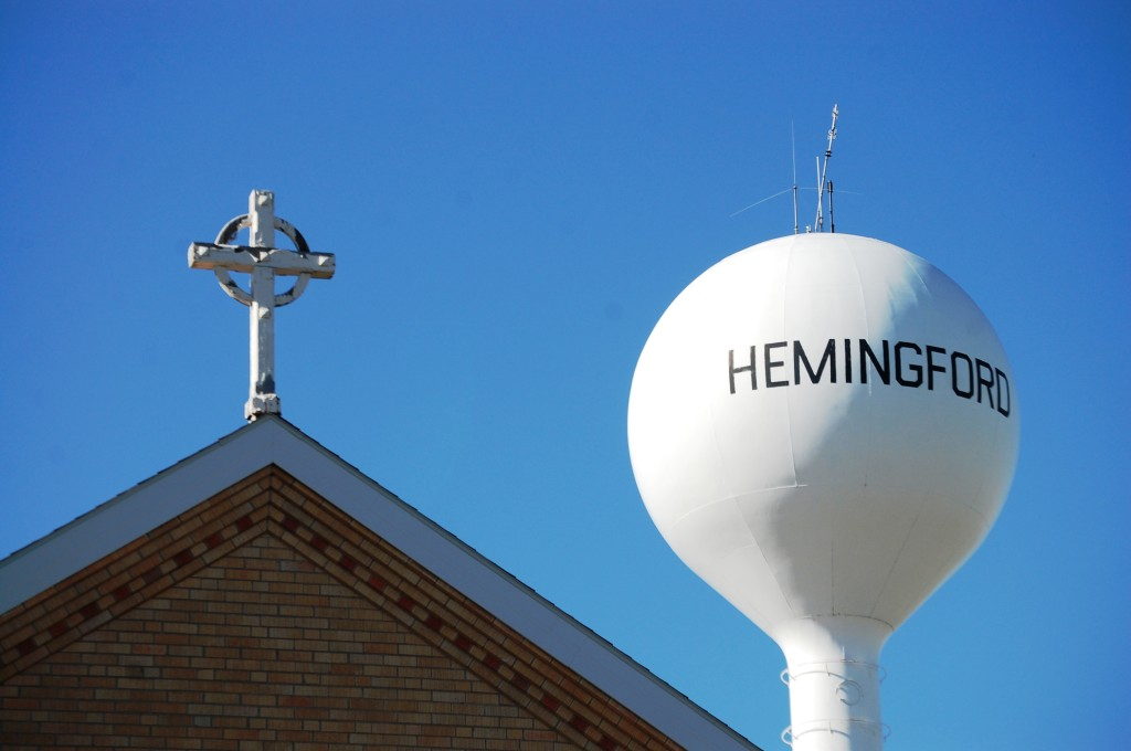 Hemingford water tower