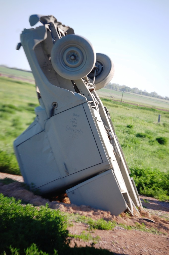 Buried Car at Carhenge