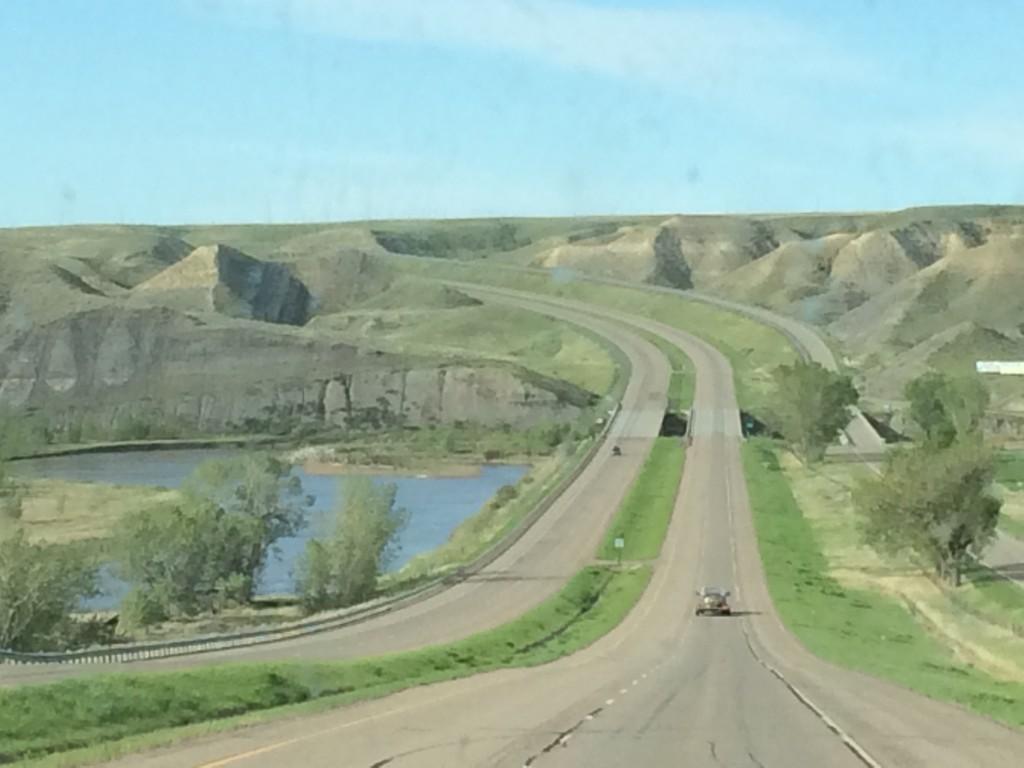 Highway to Cody, Wyoming