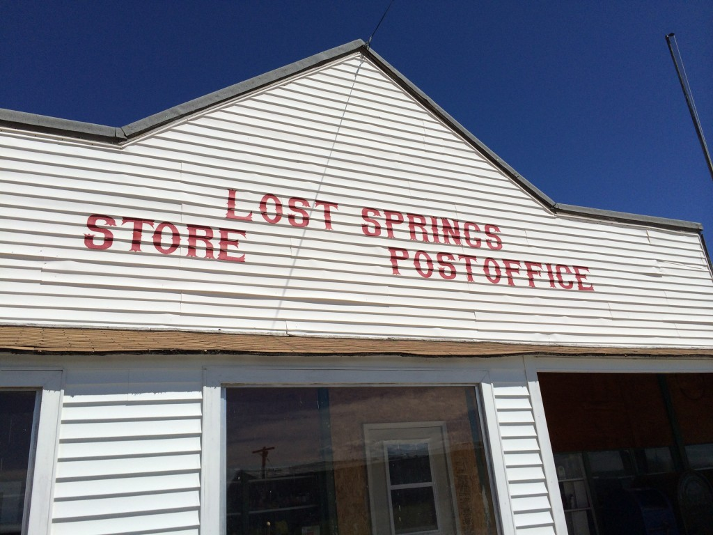Lost Springs Store and Post Office, Lost Springs, WY
