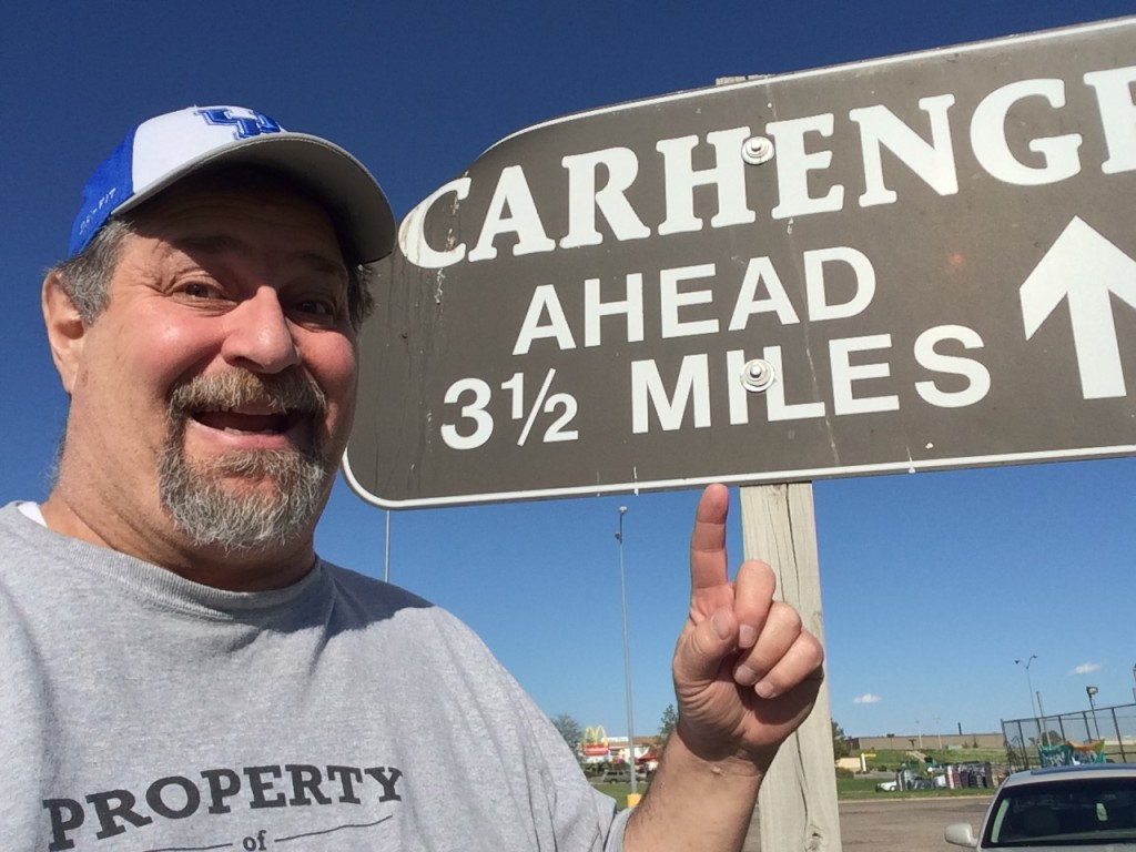This way to Carhenge