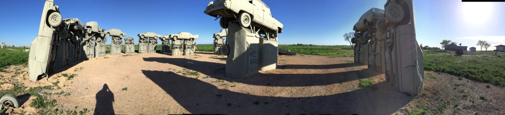 Panorama View of Carhenge