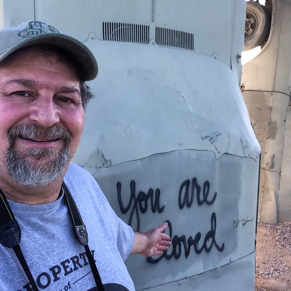 You are Loved at Carhenge