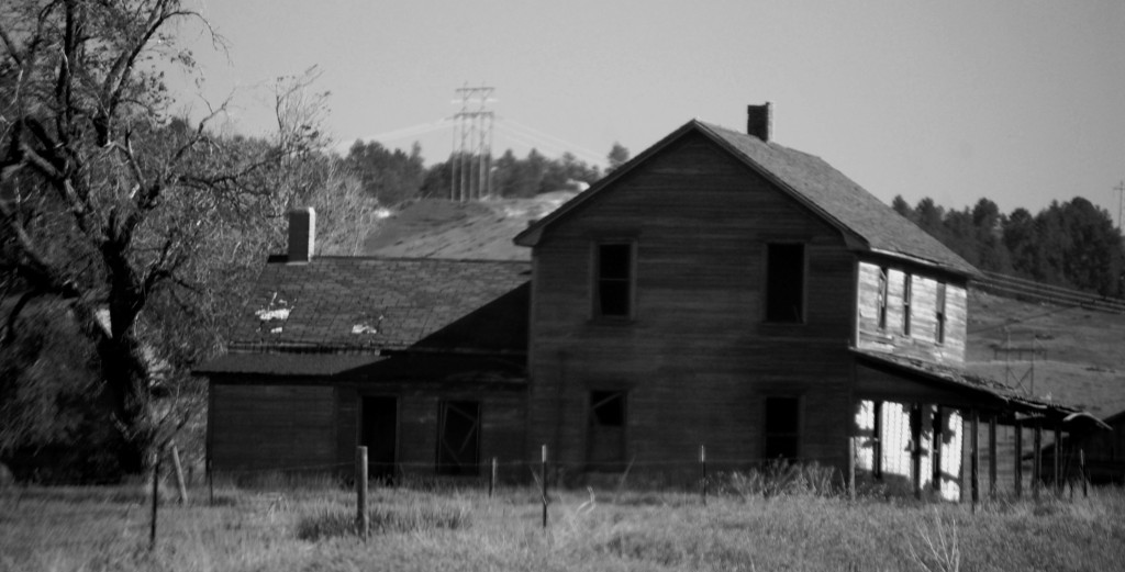 Old house in Crawford, NE