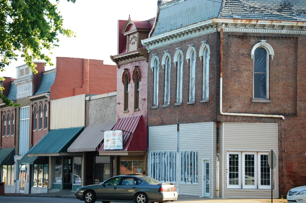 Downtown Russellville, KY