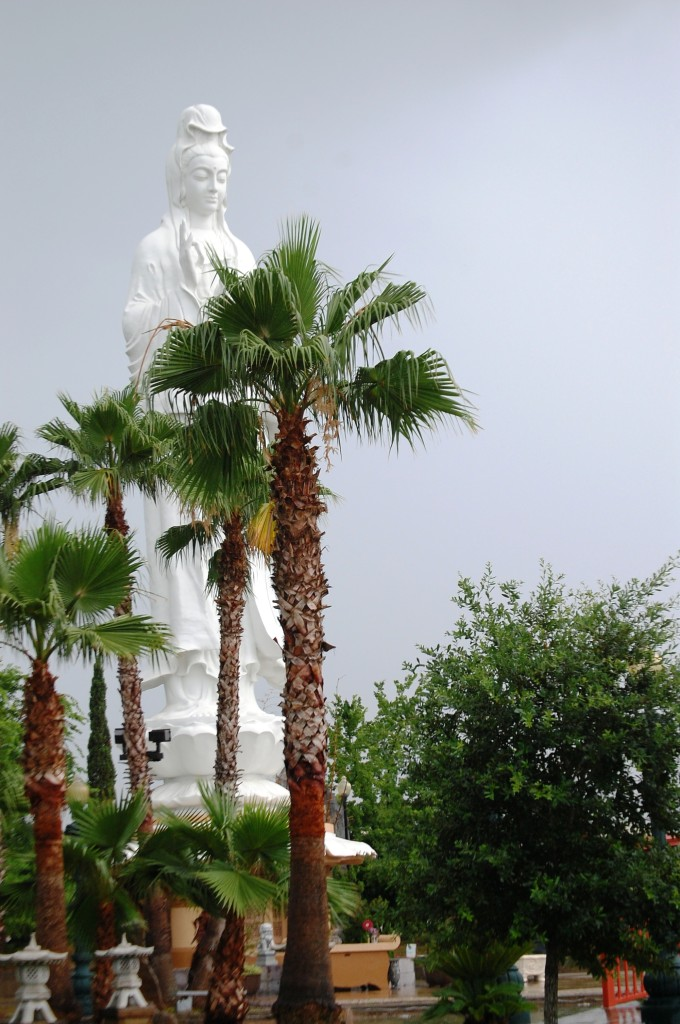 Quan Am statue in Sugar Land, TX