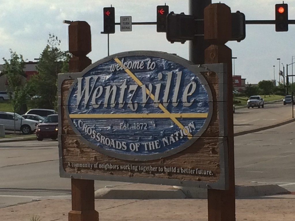 I went to Wentsville!