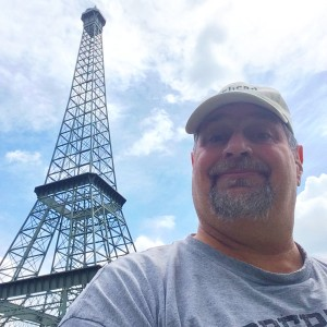 Eiffel Tower in Paris, Tennessee is 60 feet tall