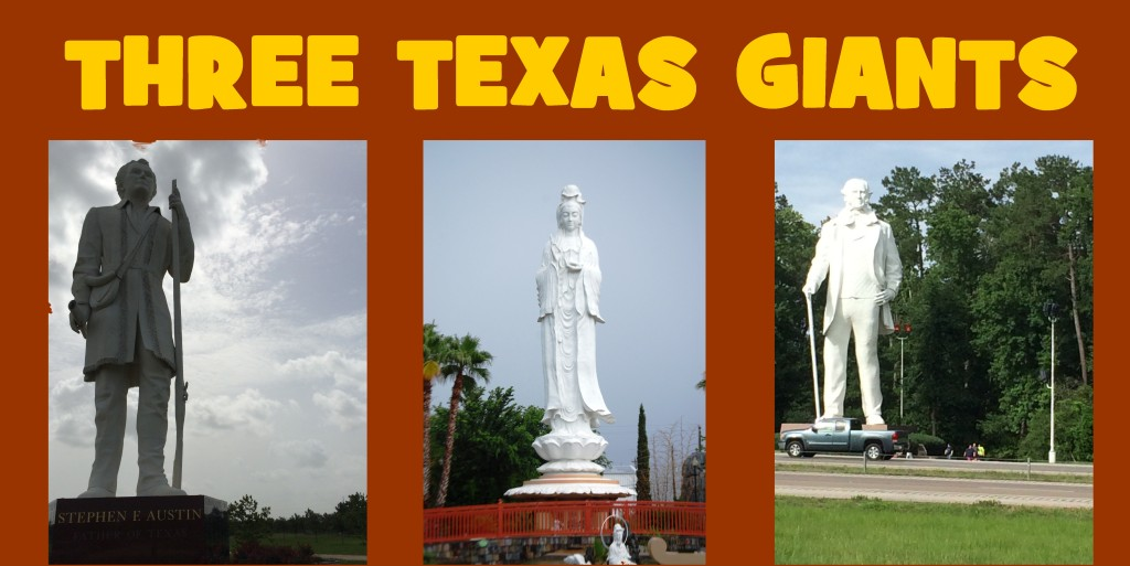 Three Texas Giants – Giant Statues of Southern Texas