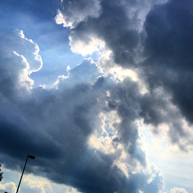 Silver linings #clouds #lexingtonky  #Nature