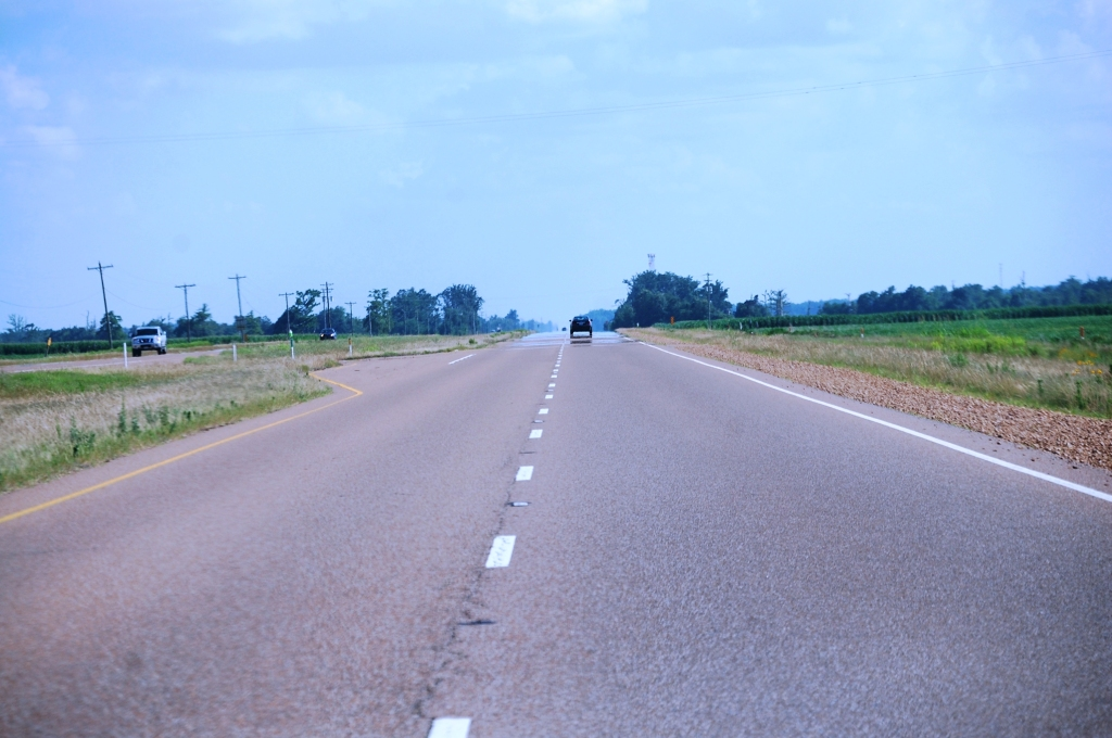 US 61 South of Tunica, MS