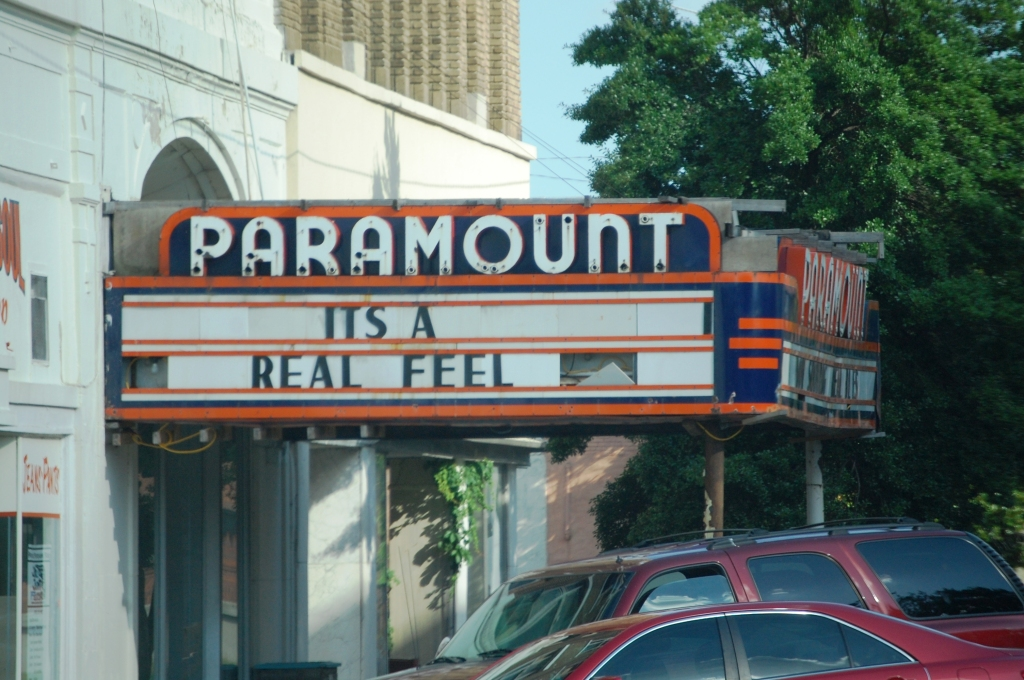 Paramount Theater in Clarksdale, MS