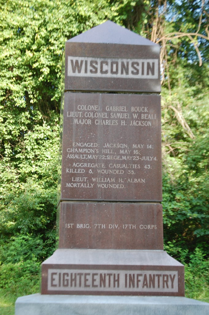 Wisconsin 18th Infantry Monument