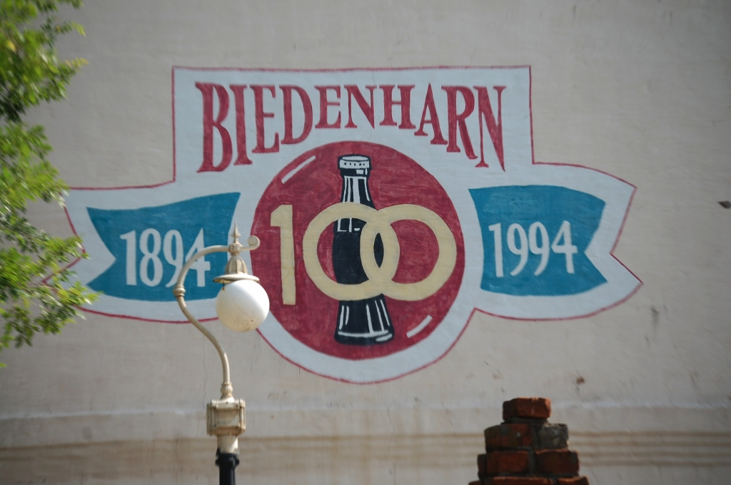 Biedenharn Museum Sign