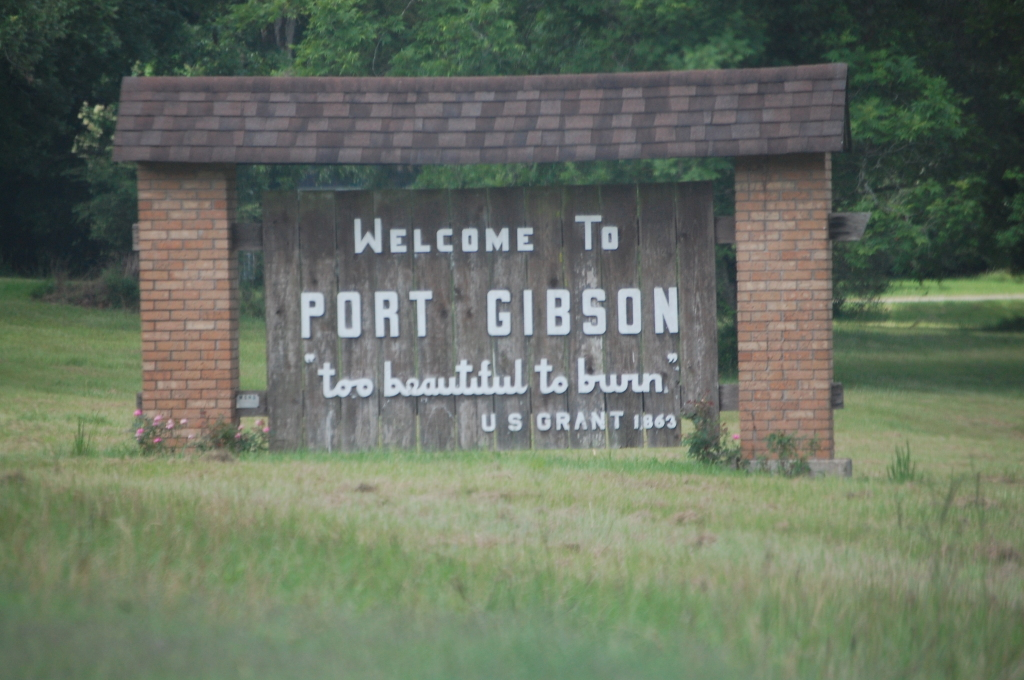 Welcome to Port Gibson, MS