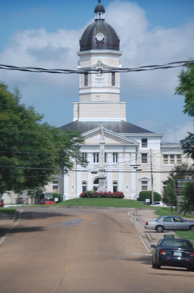 Old Courthouse in Port Gibson, MS