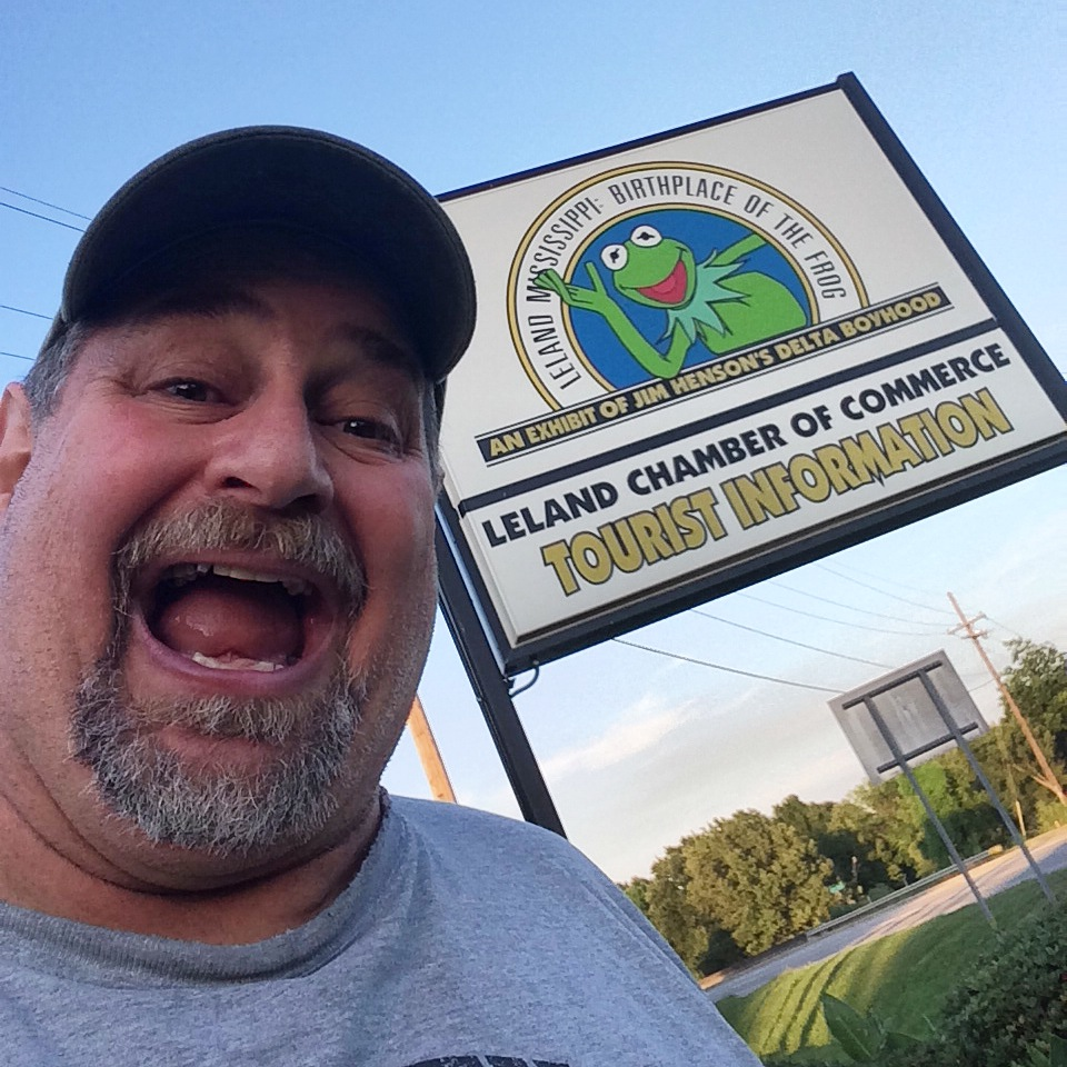 "Sumoflam at the ""Birthplace of Kermit the Frog"" in Leland, MS"