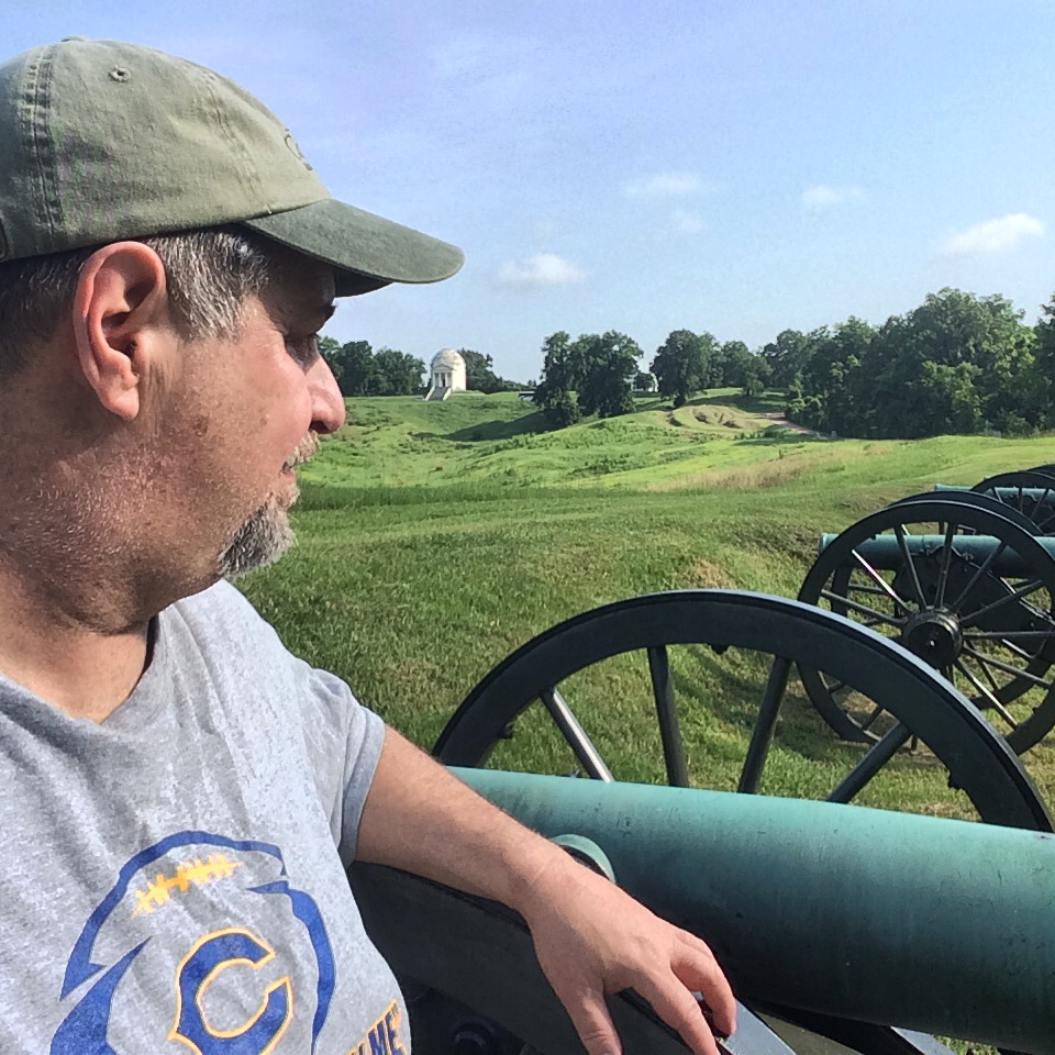 Sumoflam and Cannons at Vicksburg National Military Park