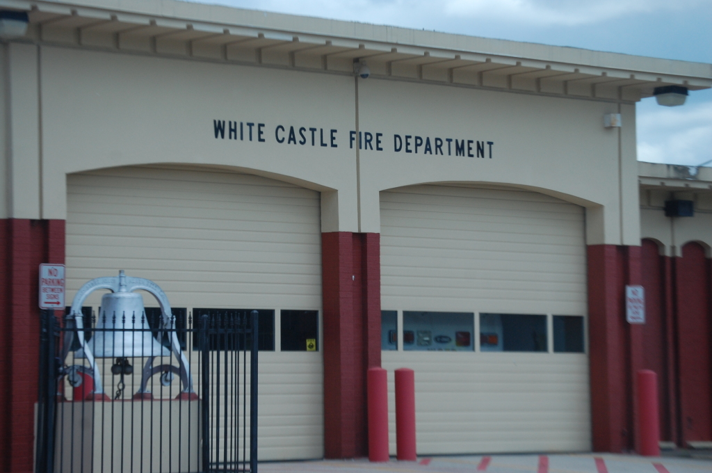 There is a White Castle Fire Dept, but no White Castle restaurants to be seen