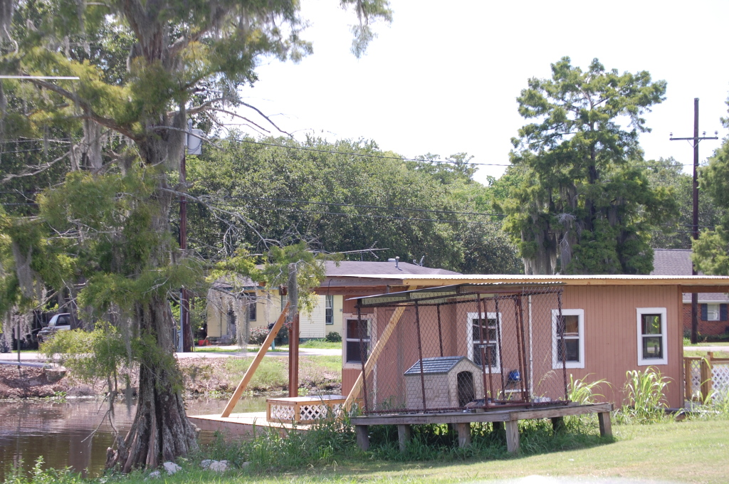 A trailer on the Bayou (if you are an Antsy McClain fan you'll get this)