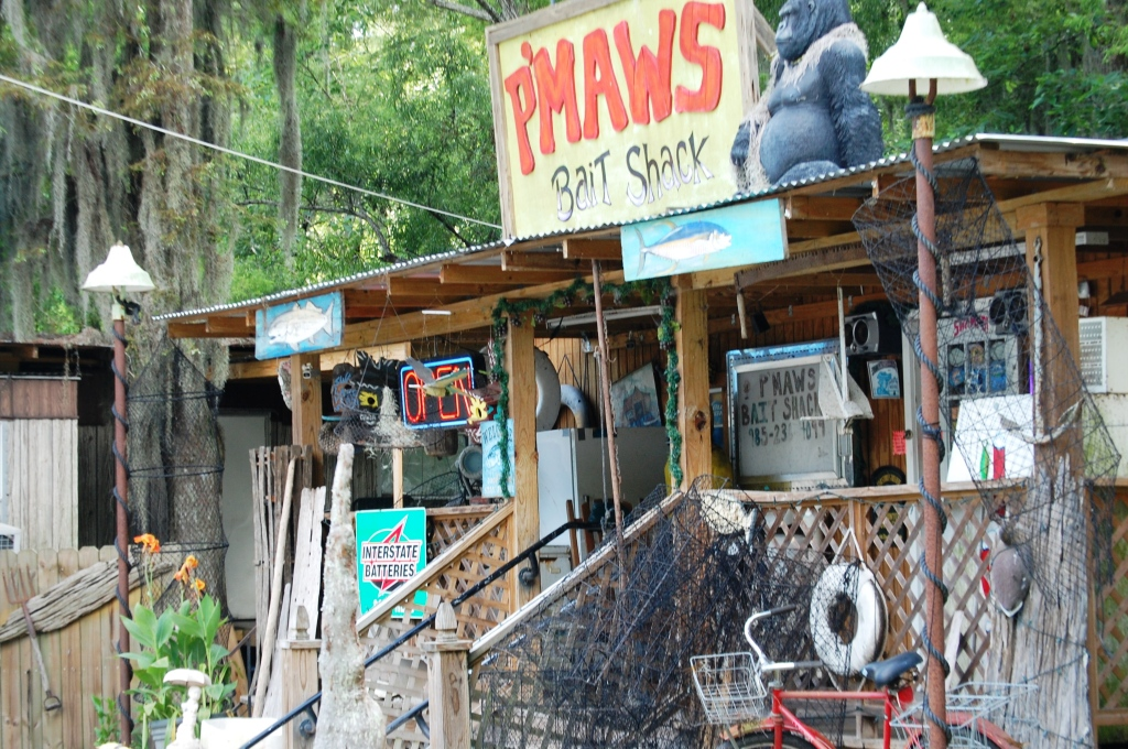 P'MAWS Bait Shack in Pierre Part, LA