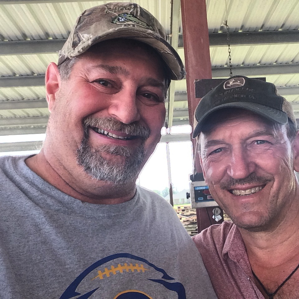 Sumoflam and Swamp People's Troy Landry...one of the friendliest and most personable guys you'll ever meet (Troy that is...)