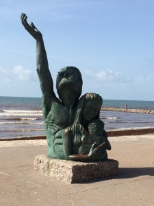 The Disaster Memorial by David. W. Moore in Galveston, TX