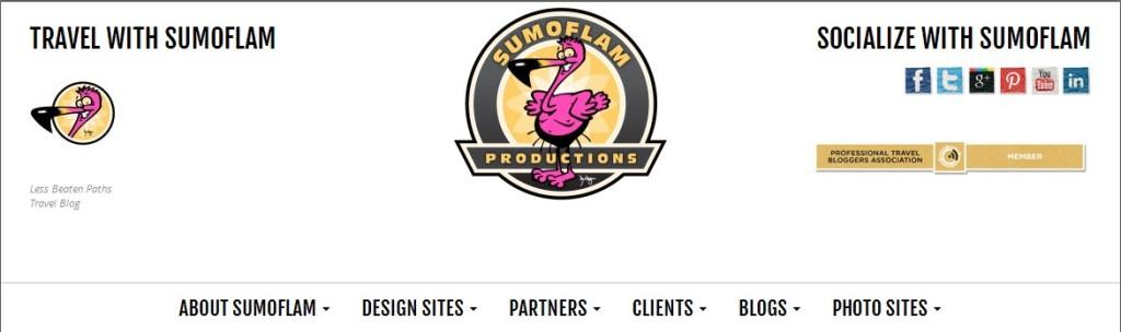 The header on my Sumoflam.biz site