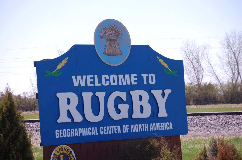 Rugby, ND - The Geographic Center of North America