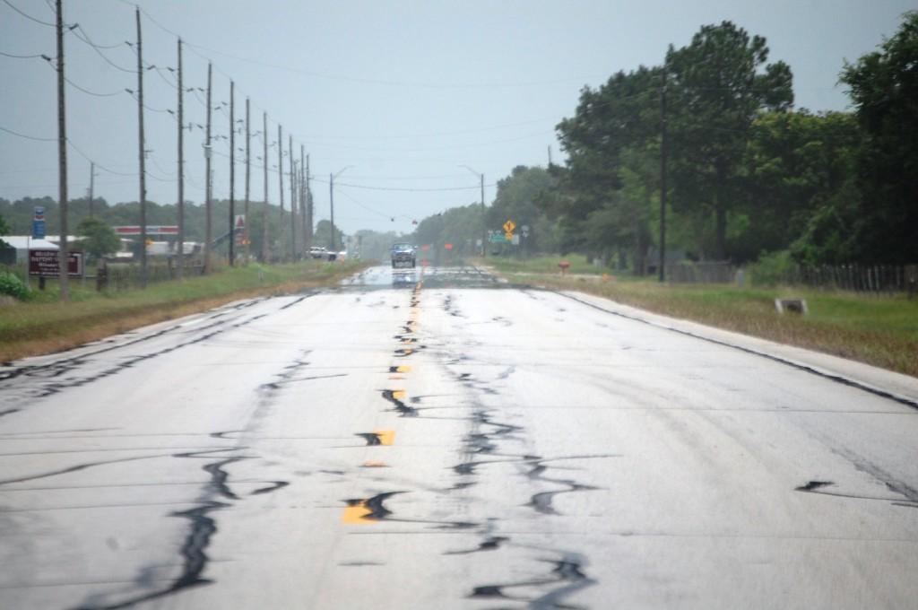 Highway 36 in Damon, TX