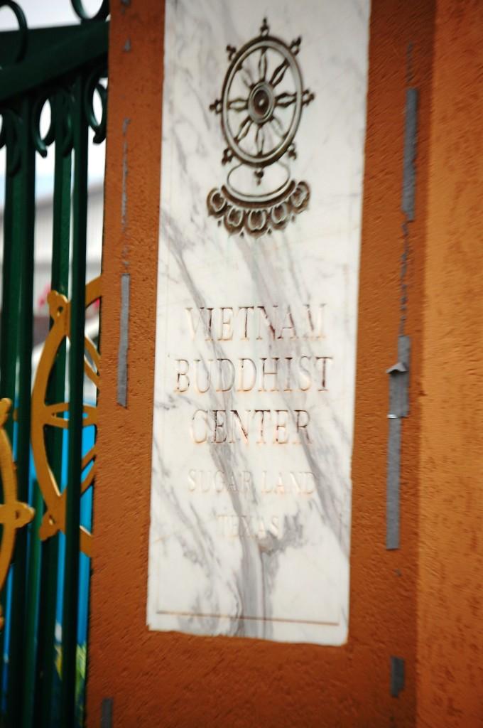 Vietnamese Buddhist Center in Sugar Land, TX